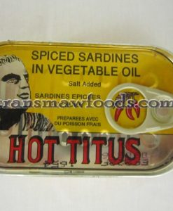 titus hot sardine