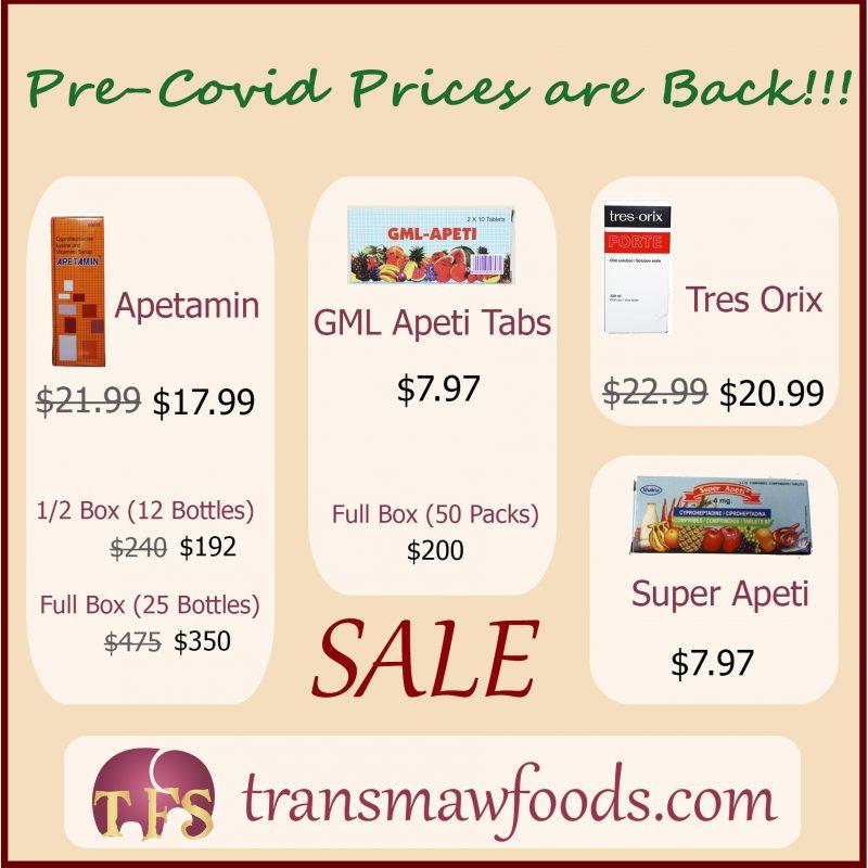 Pre-Covid Prices Are Back