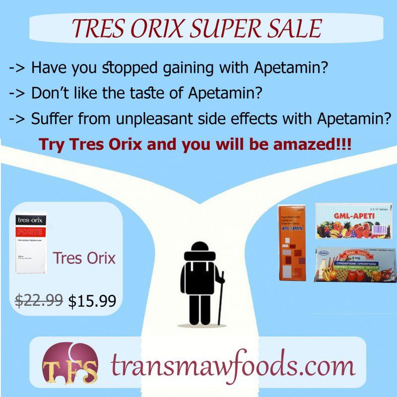 Tres Orix Super Sale
